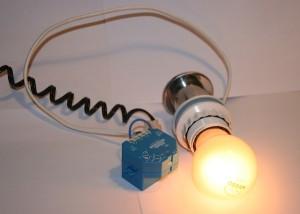 enocean lamp is on eltako IMG_3907